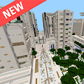 Modern City map for MCPE