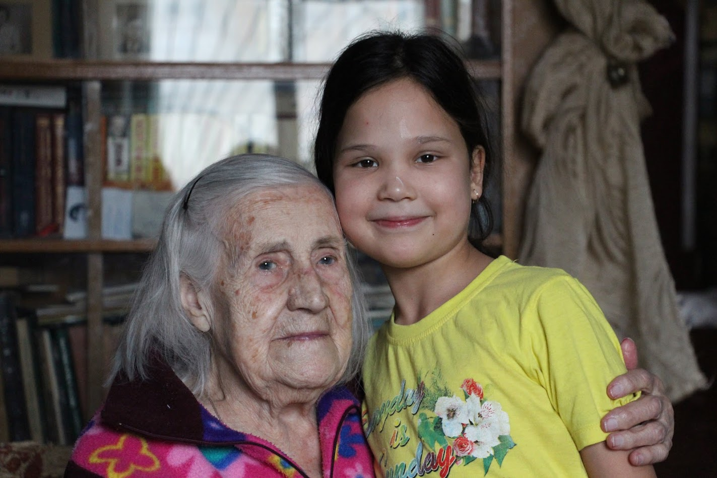 София с прабабушкой Асей