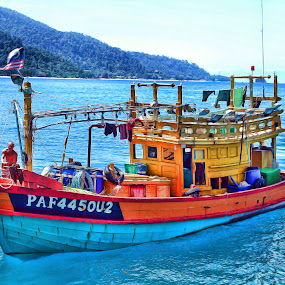 by Syafizul  Abdullah - Transportation Boats