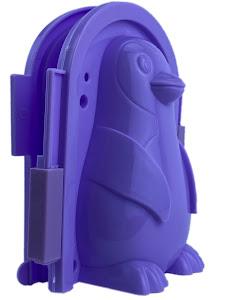 """Форма для лепки снега серии """"Город Игр"""", пингвин M, фиолетовый"""