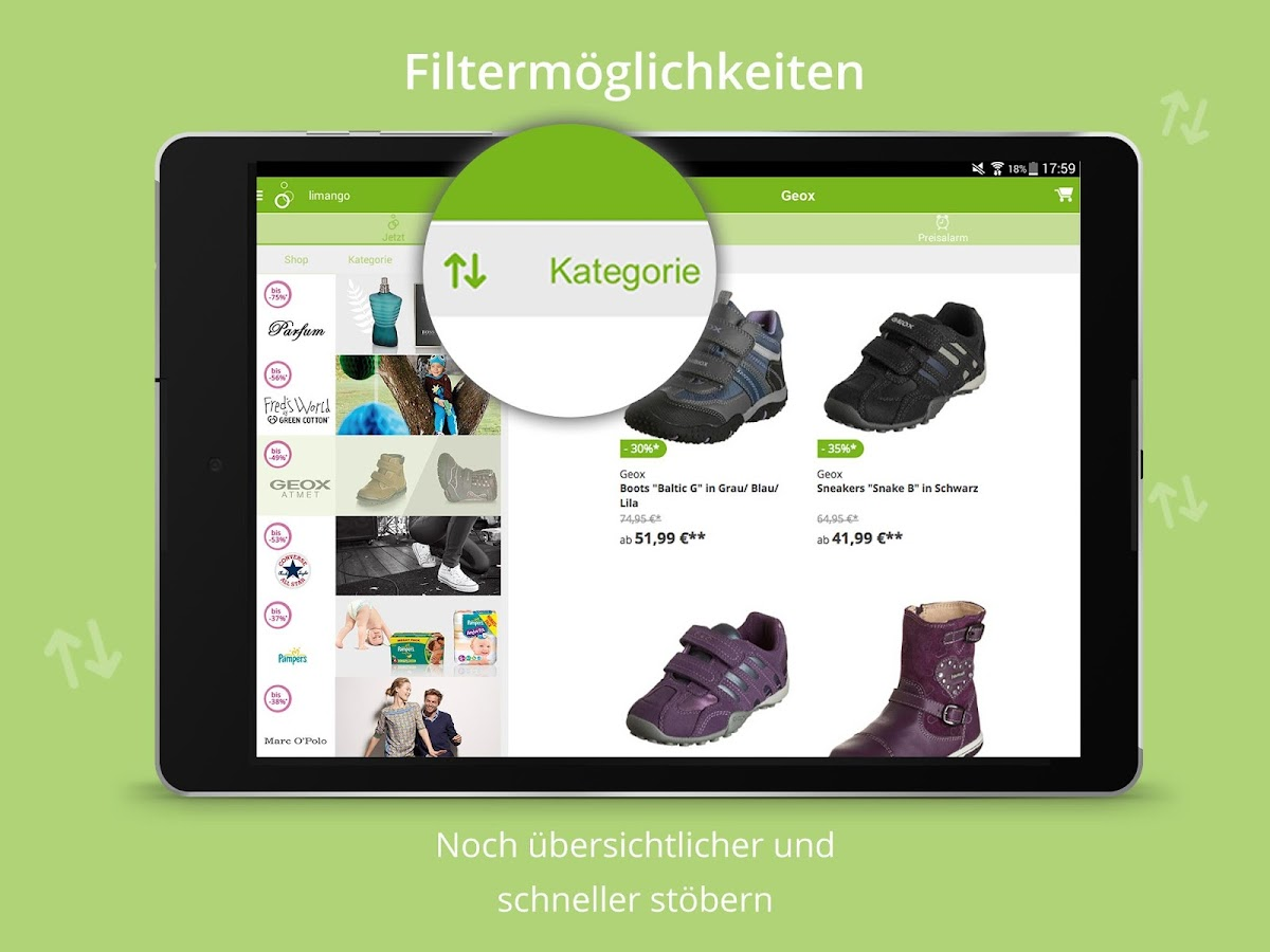 Limango - Familien Shop Screenshot 13