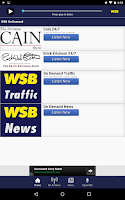 Screenshot of News 95-5 and AM 750 WSB
