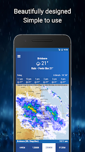 AUS Rain Radar - Bom Radar screenshot for Android