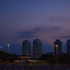 Afternoon by Ryan Rizky Fathinanto - City,  Street & Park  Skylines
