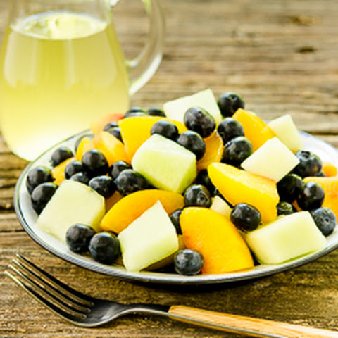 Summer Fruit Salad with Ginger-Lime Dressing