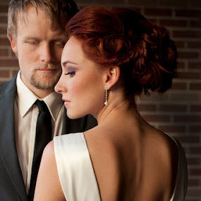 by Debi Tipton - Wedding Bride & Groom