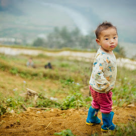 Kids at Sapa, Vietnam by Bebe Leong - Babies & Children Children Candids ( sapa, vietnam, kids, cute, kids portrait, asian,  )