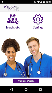 MedPro Top Jobs - screenshot