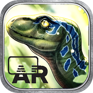 Baby Blue Raptor Trainer: Jurassic Evolution AR for PC-Windows 7,8,10 and Mac