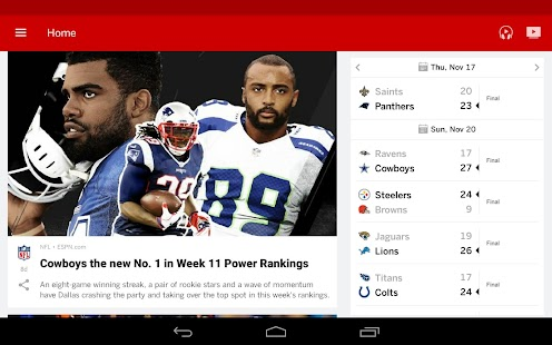 Free Download ESPN APK for Samsung