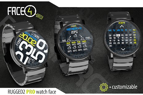 RUGGED2 PRO Watch Face