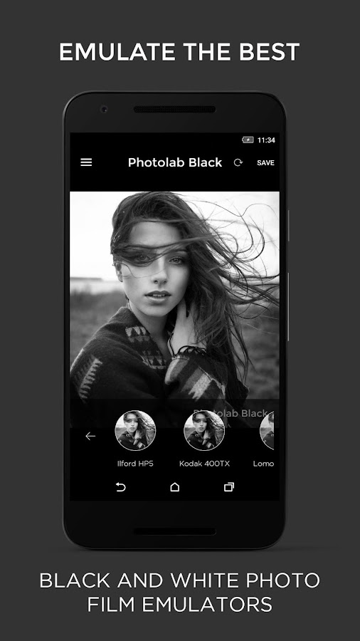 Photo Editor - Black and white Screenshot 4