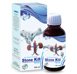 Stone kill syrup is an effective natural stone remover syrup which helps in curing the stones that occurs in kidney by completely destroying them