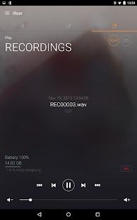 iRoar Remote Assistant Screenshot