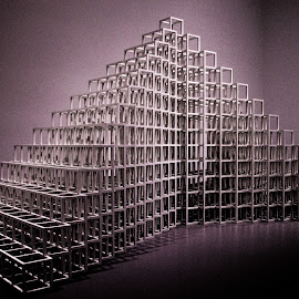 Sol LeWitt 13/11 by Terri Schaffer - Artistic Objects Other Objects