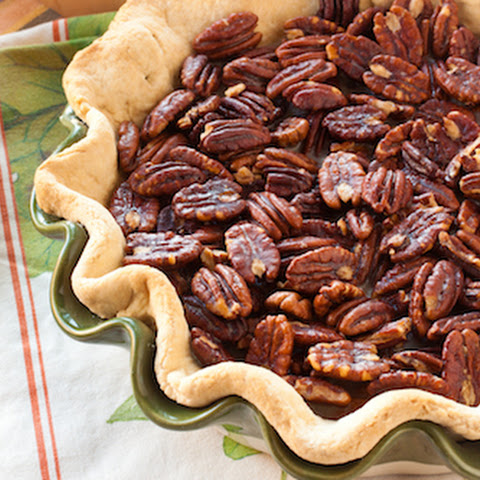 Praline-Topped Sweet Potato Pie