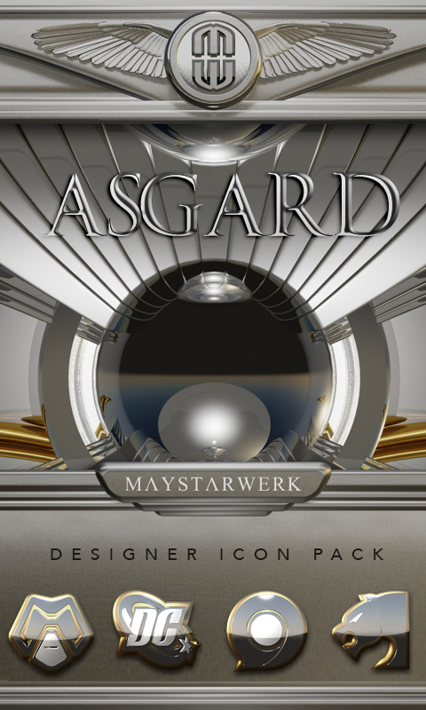 Asgard HD Icon Pack Screenshot 0
