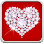 Diamond Hearts Live Wallpaper Icon