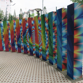 Illusion Wall by Dennis  Ng - Artistic Objects Other Objects (  )
