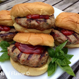 Tomato Basil Turkey Burgers Recipes