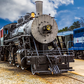 Engine 21 by Liam Douglas - Transportation Trains ( railway, engine, railroad, railyard, train, museum,  )