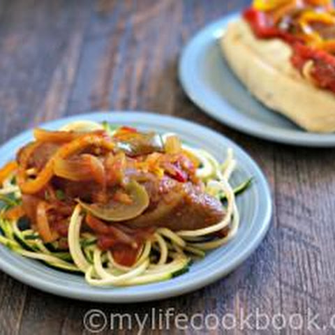 Slow Cooker Italian Sausage & Peppers