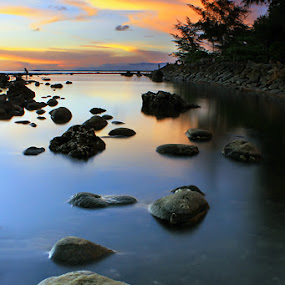Another side Bunghatta Beach by Fre Ghothic - Landscapes Waterscapes
