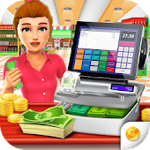 Download Supermarket Grocery Cashier APK on PC