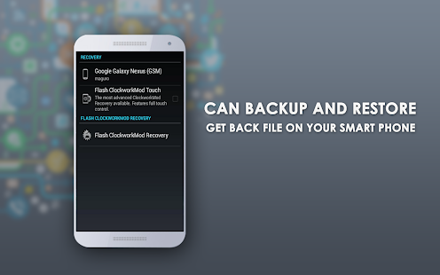 Backup Data Recovery - screenshot