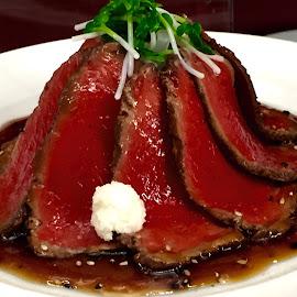 Steak by Lope Piamonte Jr - Food & Drink Plated Food