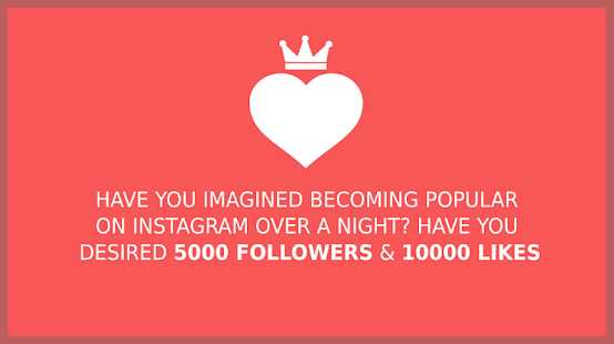 Free app Royal Likes for Instagram Tablet