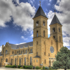 Cathedral on the Plains by Jackie Eatinger - Buildings & Architecture Places of Worship (  )