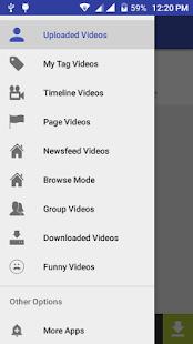 SVD Video Downloader Facebook APK for Bluestacks