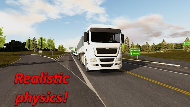Heavy Truck Simulator 1293150 APK screenshot thumbnail 3