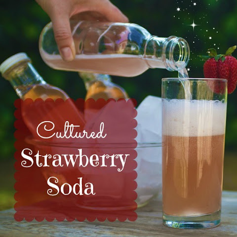 Cultured Strawberry Soda