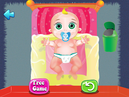 Baby Nappy Time - screenshot