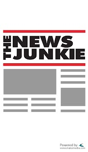 The News Junkie - screenshot