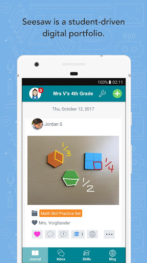 Seesaw: The Learning Journal screenshot 1