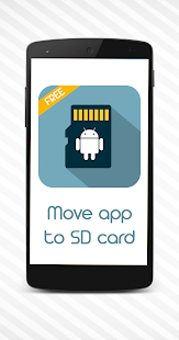 Move app to SD card - screenshot