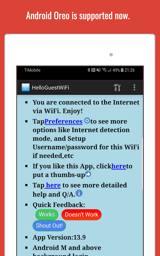 WiFi Web Login Screenshot 8