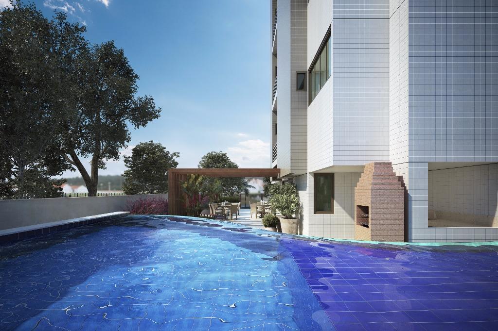 Cobertura residencial à venda ao lado do Parque Parahyba, Jardim Oceania, João Pessoa - CO0042.