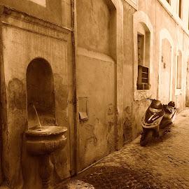 by Roxana Velicu - City,  Street & Park  Street Scenes