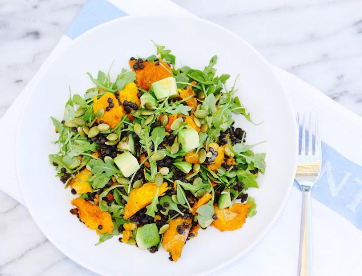 Roasted Vegetable, Arugula And Avocado Salad Recipes — Dishmaps
