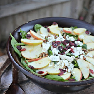 Apple Feta Walnut Salad
