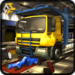 OffRoad Truck Mechanic Garage Icon