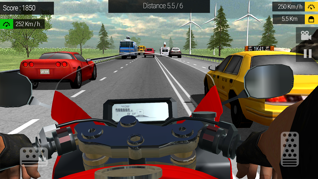 Moto Traffic Rider Screenshot 2
