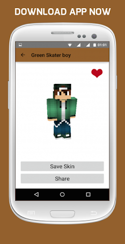 android Girl & Boy Skins for Minecraft Screenshot 4