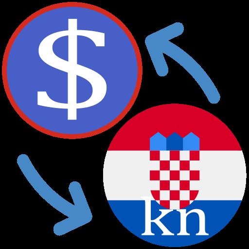 Android aplikacija Američki dolar u odnosu na kunu na Android Srbija