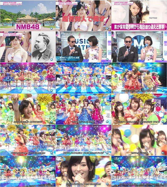 (TV-Music)(1080i) NMB48 Part – Music Station 150710
