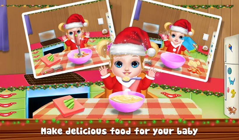 android Christmas Baby Care And Bath Screenshot 4